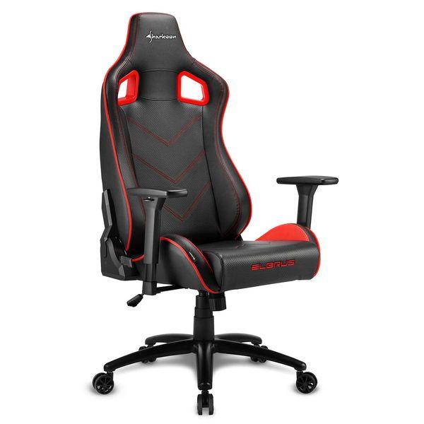 Кресло компьютерное игровое Sharkoon Elbrus 2 Black/Red SHARKOON