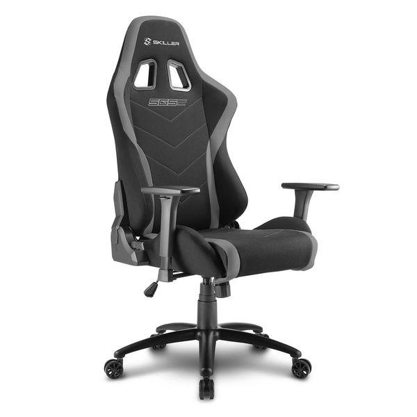 Кресло компьютерное игровое Sharkoon Shark Skiller SGS2 Black/Grey