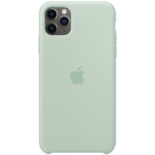 Чехол Apple — iPhone 11 Pro Silicone Case Beryl (MXM72ZM/A)