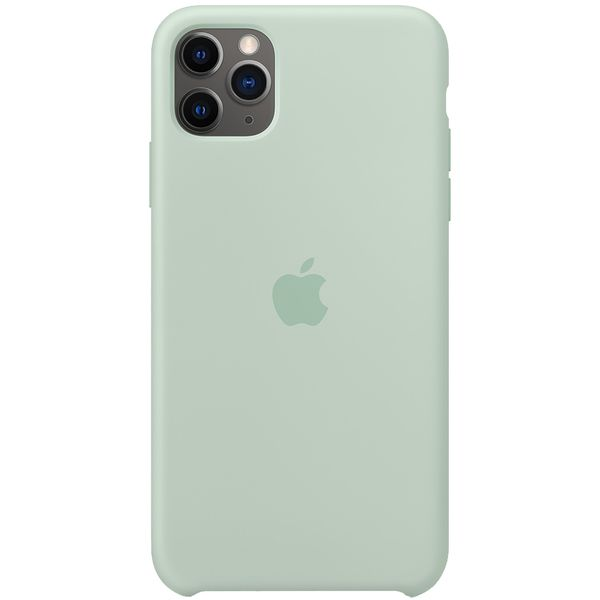 Чехол Apple — iPhone 11 Pro Max Silicone Case Beryl (MXM92ZM/A)