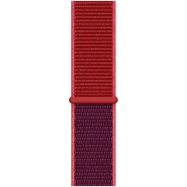 Ремешок Apple 44mm (PRODUCT)RED Sport Loop (MXHW2ZM/A) фото