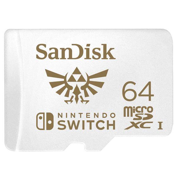 Карта памяти SDHC Micro SanDisk