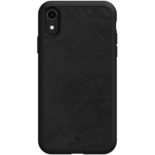Чехол Black Rock The Statement Case iPhone XR черный черного цвета