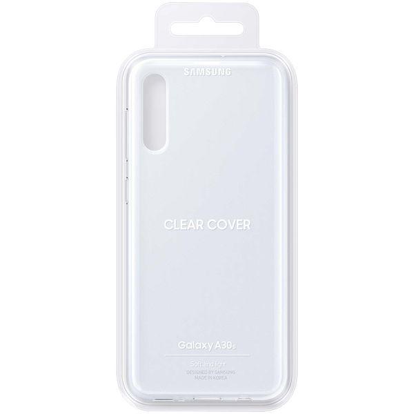 Чехол Samsung — Clear Cover для A30s, Transparent