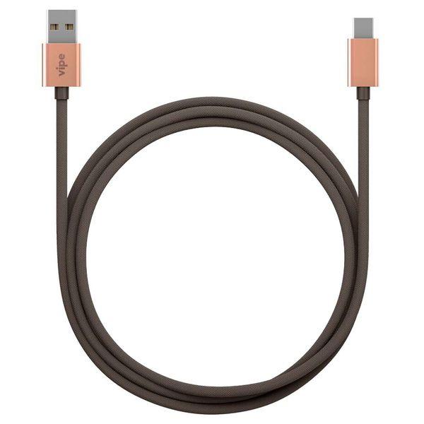 Кабель USB Type-C Vipe USB/Type-C 1м Grey