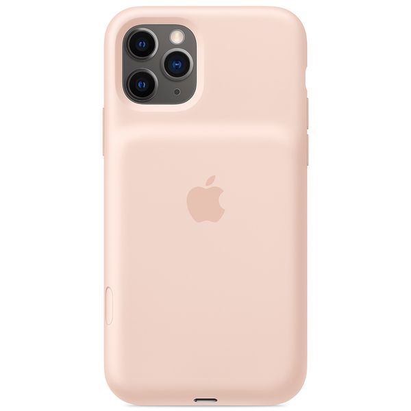 Чехол-аккумулятор Apple iPhone 11 Pro Max Smart Battery Case WLChrg PinkS