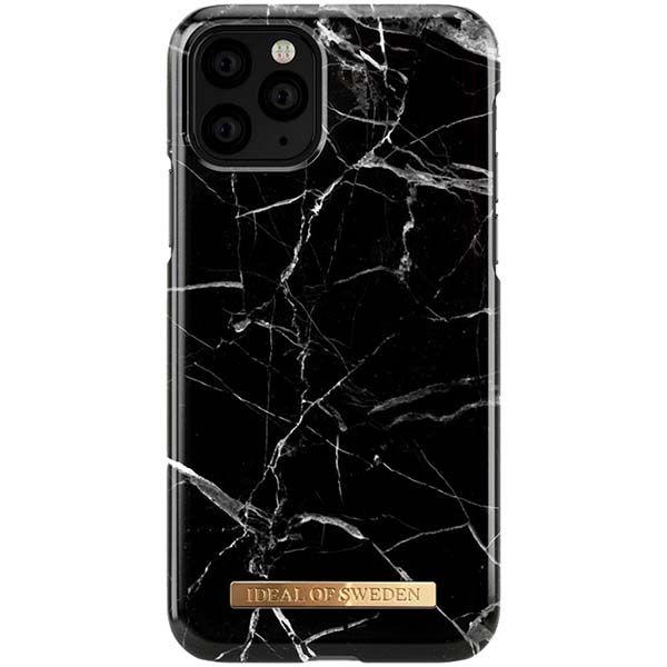 Чехол iDeal Of Sweden iPhone 11 Pro Black Marble черный/белый