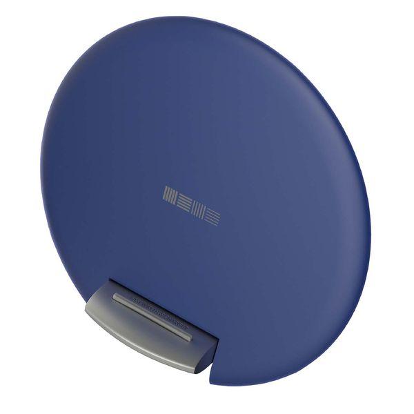 Беспроводное зарядное устройство InterStep QI, регулируемый стенд, 10W, Dark Blue
