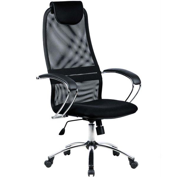 Кресло компьютерное Метта BK-8CH Black (531509)
