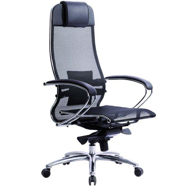 Купить Кресло компьютерное Метта Samurai S-1 Black (531524) в каталоге интернет магазина М.Видео по выгодной цене с доставкой, отзывы, фотографии - Курган