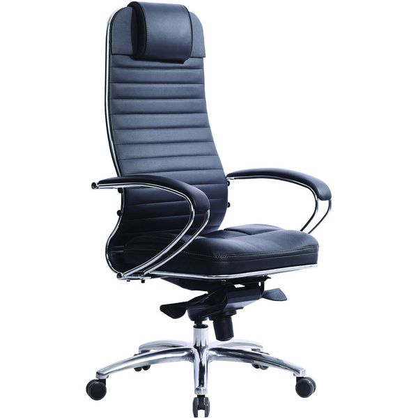 Купить Кресло компьютерное Метта Samurai KL-1 Black (531532) в каталоге интернет магазина М.Видео по выгодной цене с доставкой, отзывы, фотографии - Москва