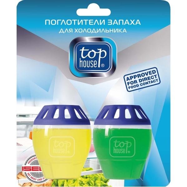 Поглотитель запаха в холодильнике Top House 393378 Лимон и лайм