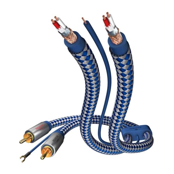 Кабель аналоговый аудио (Hi-Fi) Inakustik Premium Phono Cable RCA/RCA 1,5м (00405115)