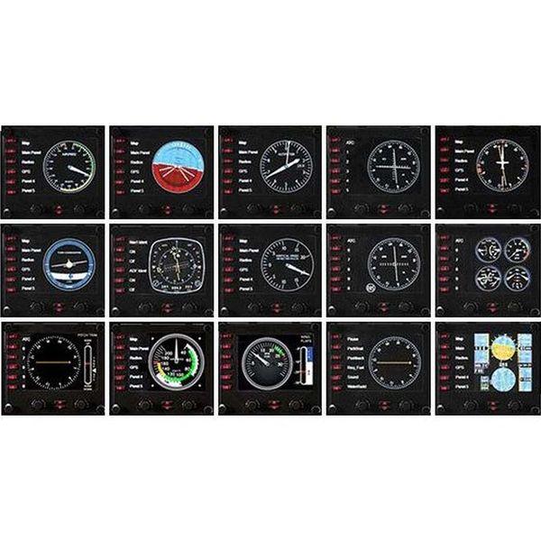 Джойстик Logitech — G Flight Instrument Panel (945-000008)