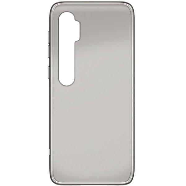 Чехол Vipe Color для Xiaomi Mi Note 10, Transparent Grey фото