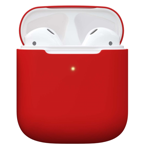 Чехол для AirPods Red Line 1,3 mm красный
