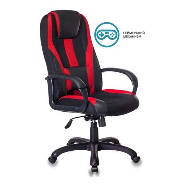 Кресло компьютерное игровое Бюрократ VIKING-9/BL+RED