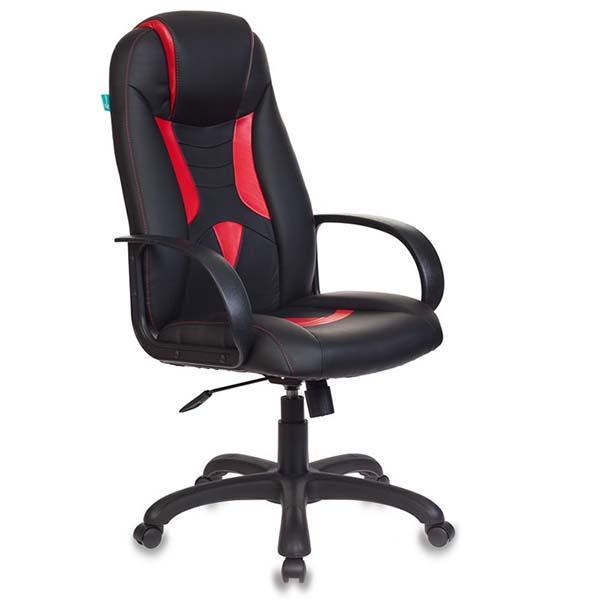 Кресло компьютерное игровое Бюрократ VIKING-8/BL+RED