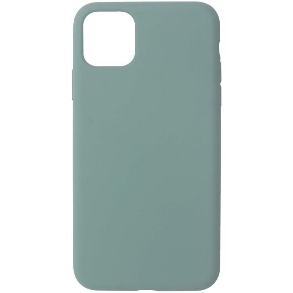 Чехол InterStep 4D-TOUCH MV iPhone 11 Pro Max тёмно-зелёный фото