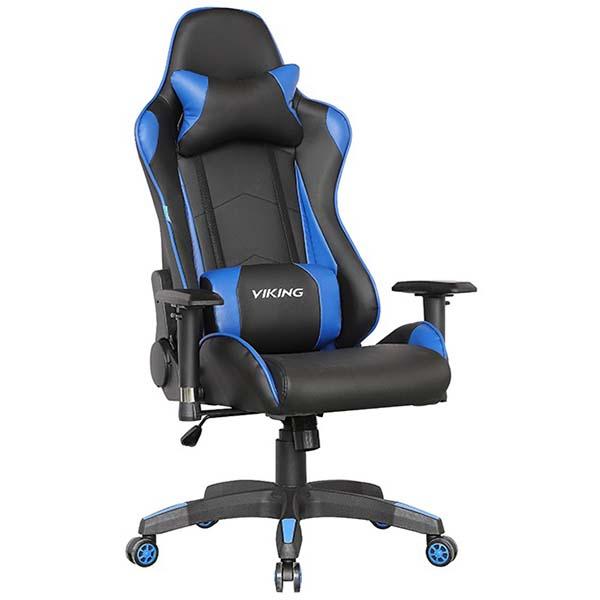 Кресло компьютерное игровое Бюрократ CH-778/BL+BLUE