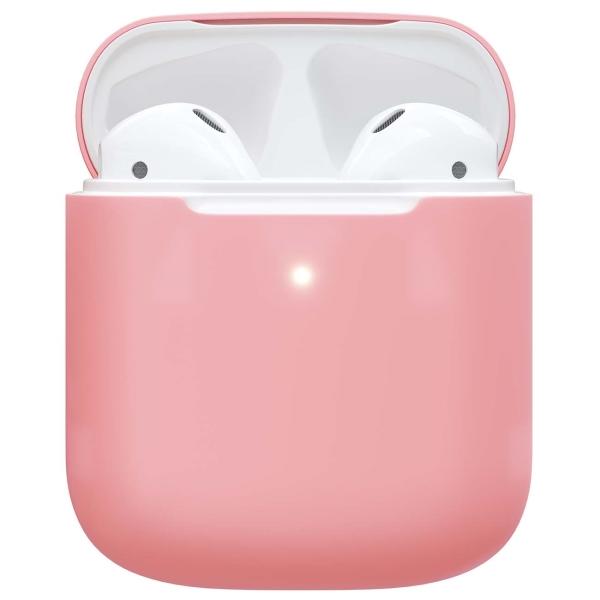 Чехол для AirPods Red Line 1,3 mm розовый