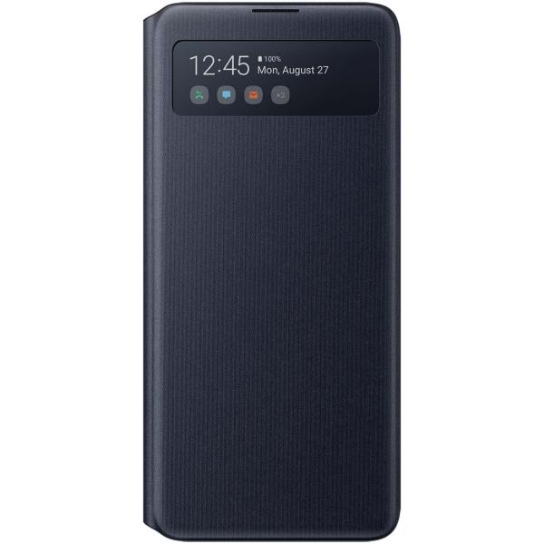 Чехол Samsung S View Wallet Cover для Note10 Lite, Black