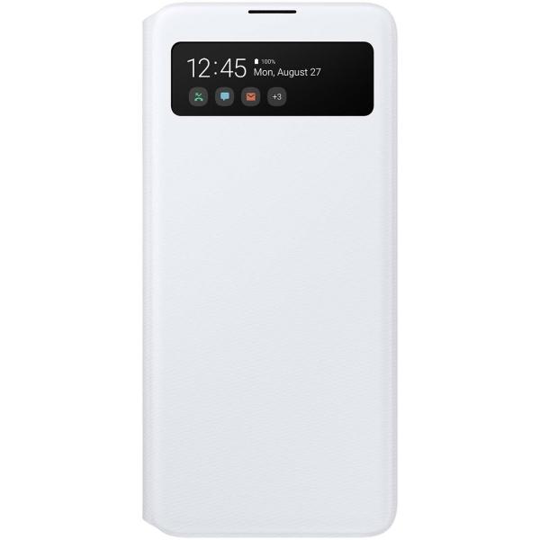 Чехол Samsung — S View Wallet Cover для A51, White