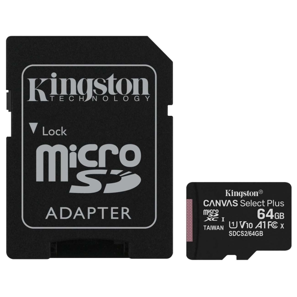 Карта памяти SDXC Micro Kingston
