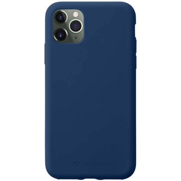 Чехол Cellular Line Sensation iPhone 11 Pro синий (SENSATIONIPHXIB) синего цвета