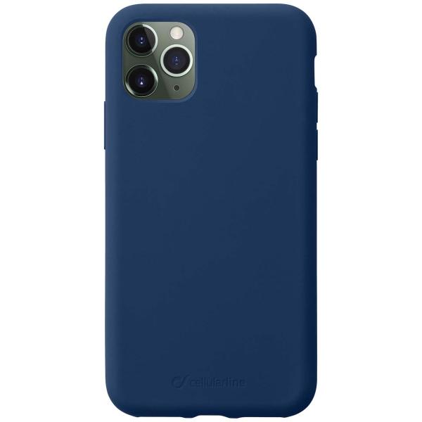 Чехол Cellular Line Sensation iPhone 11 Pro Max синий синего цвета
