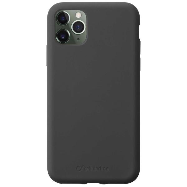 Чехол Cellular Line Sensation iPhone 11 Pro Max черный черного цвета