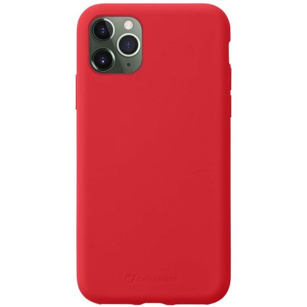 Чехол Cellular Line Sensation iPhone 11 Pro Max красный красного цвета