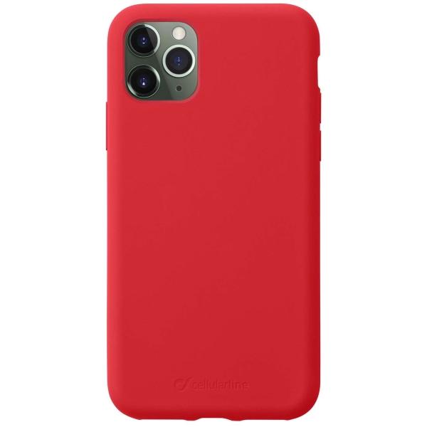 Чехол Cellular Line Sensation iPhone 11 Pro красный (SENSATIONIPHXIR) красного цвета