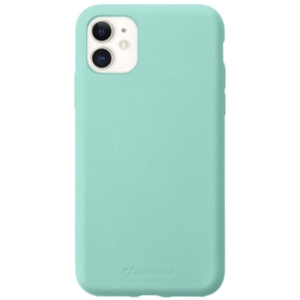 Чехол Cellular Line Sensation iPhone 11 зеленый (SENSATIONIPHXR2G) зеленого цвета