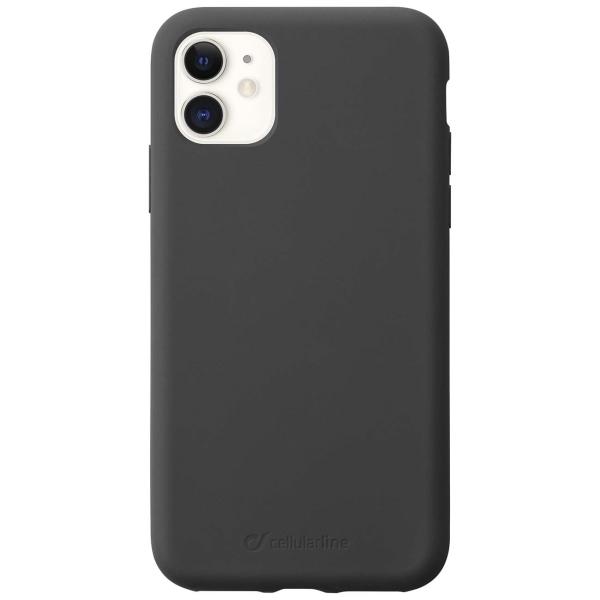 Чехол Cellular Line Sensation iPhone 11 черный (SENSATIONIPHXR2K) черного цвета