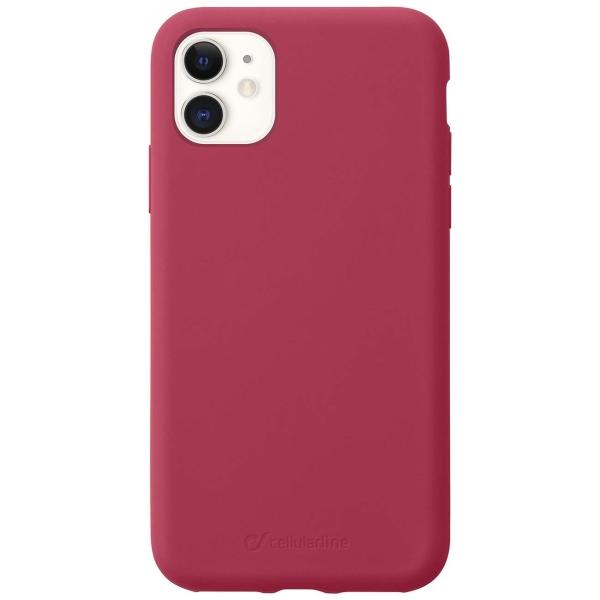 Чехол Cellular Line Sensation iPhone 11 красный (SENSATIONIPHXR2R) красного цвета