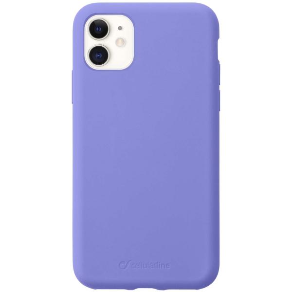 Чехол Cellular Line Sensation iPhone 11 фиолетовый (SENSATIONIPHXR2V) фиолетового цвета