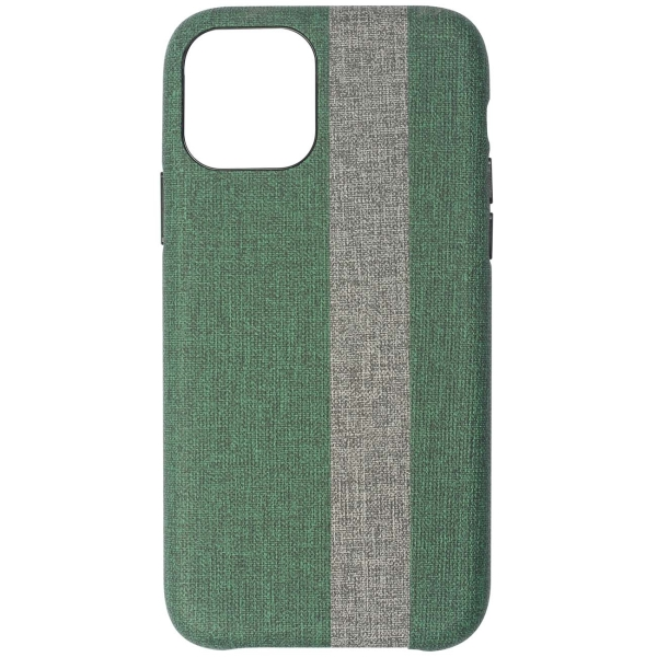 Чехол InterStep — LOLLY PRINT MV iPhone 11 Pro тёмно-зелёный