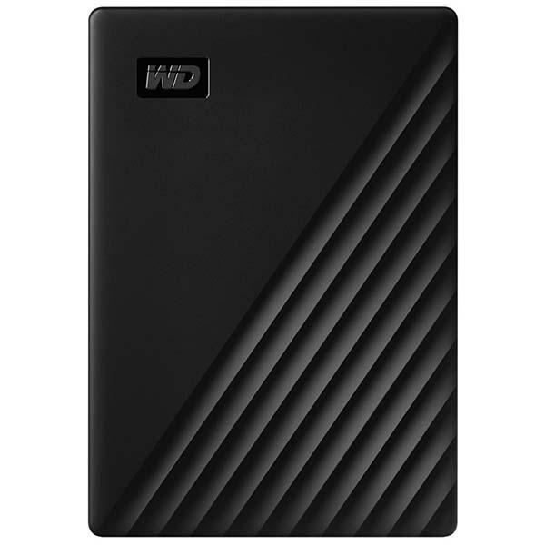 """Внешний жесткий диск 2.5"""" WD 2Tb My Passport Black (WDBYVG0020BBK-WESN) черного цвета"""
