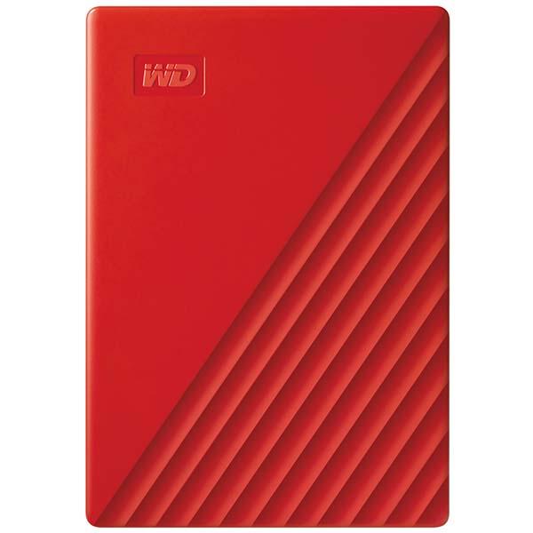 "Внешний жесткий диск 2.5"" WD 2Tb My Passport Red (WDBYVG0020BRD-WESN) красного цвета"