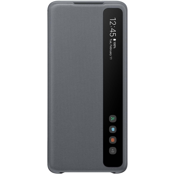 Чехол Samsung Smart Clear View Cover для Galaxy S20+, Grey