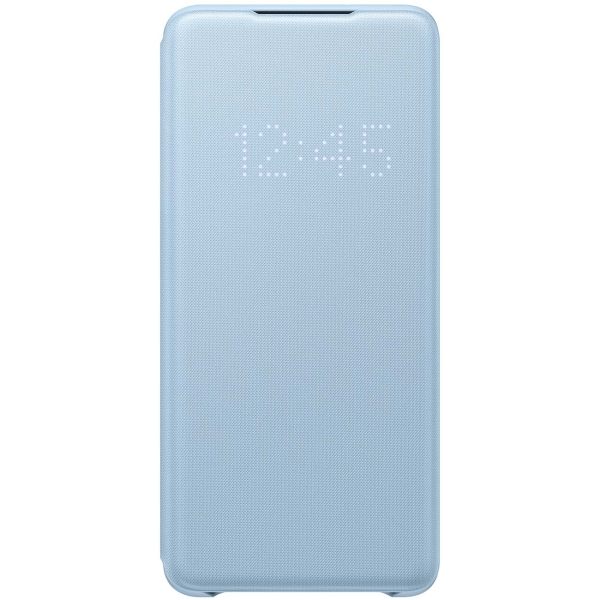 Чехол Samsung Smart LED View Cover для Galaxy S20+, Sky Blue фото