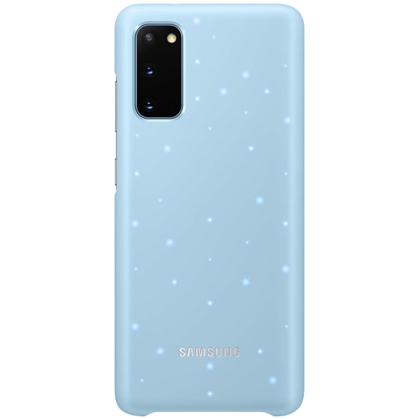 Чехол Samsung — Smart LED Cover для Galaxy S20, Sky Blue