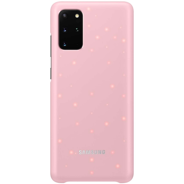 Чехол Samsung — Smart LED Cover для Galaxy S20+, Pink