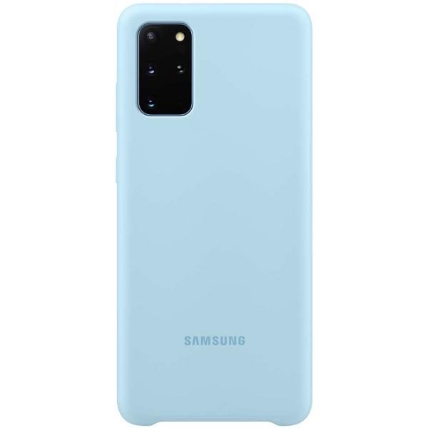 Чехол Samsung — Silicone Cover для Galaxy S20+, Sky Blue