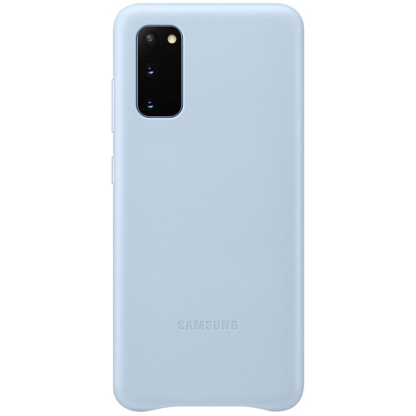 Чехол Samsung — Leather Cover для Galaxy S20, Sky Blue