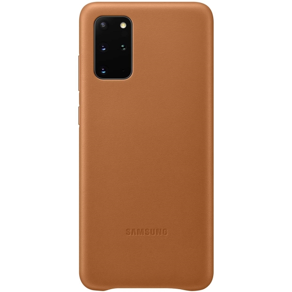 Чехол Samsung — Leather Cover для Galaxy S20+, Brown