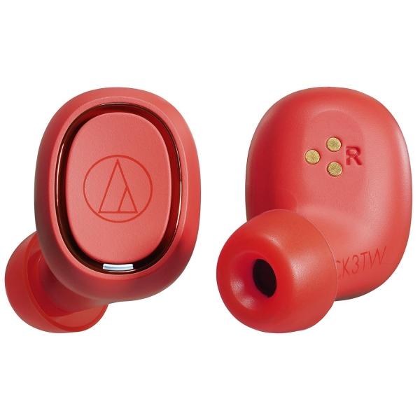 Наушники True Wireless Audio-Technica — ATH-CK3TW Red