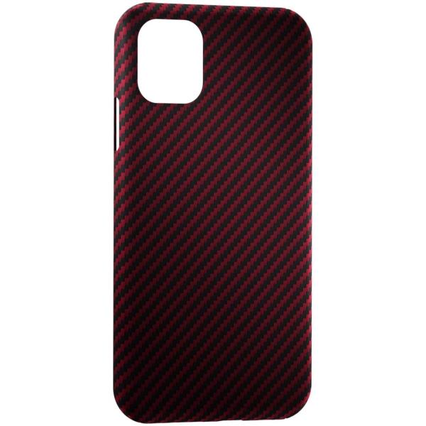 Чехол для iPhone LYAMBDA, Сarbon Series для iPhone 11 Pro Max Red Matte  - купить со скидкой