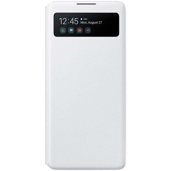 Чехол Samsung S View Wallet Cover для S10 Lite, White